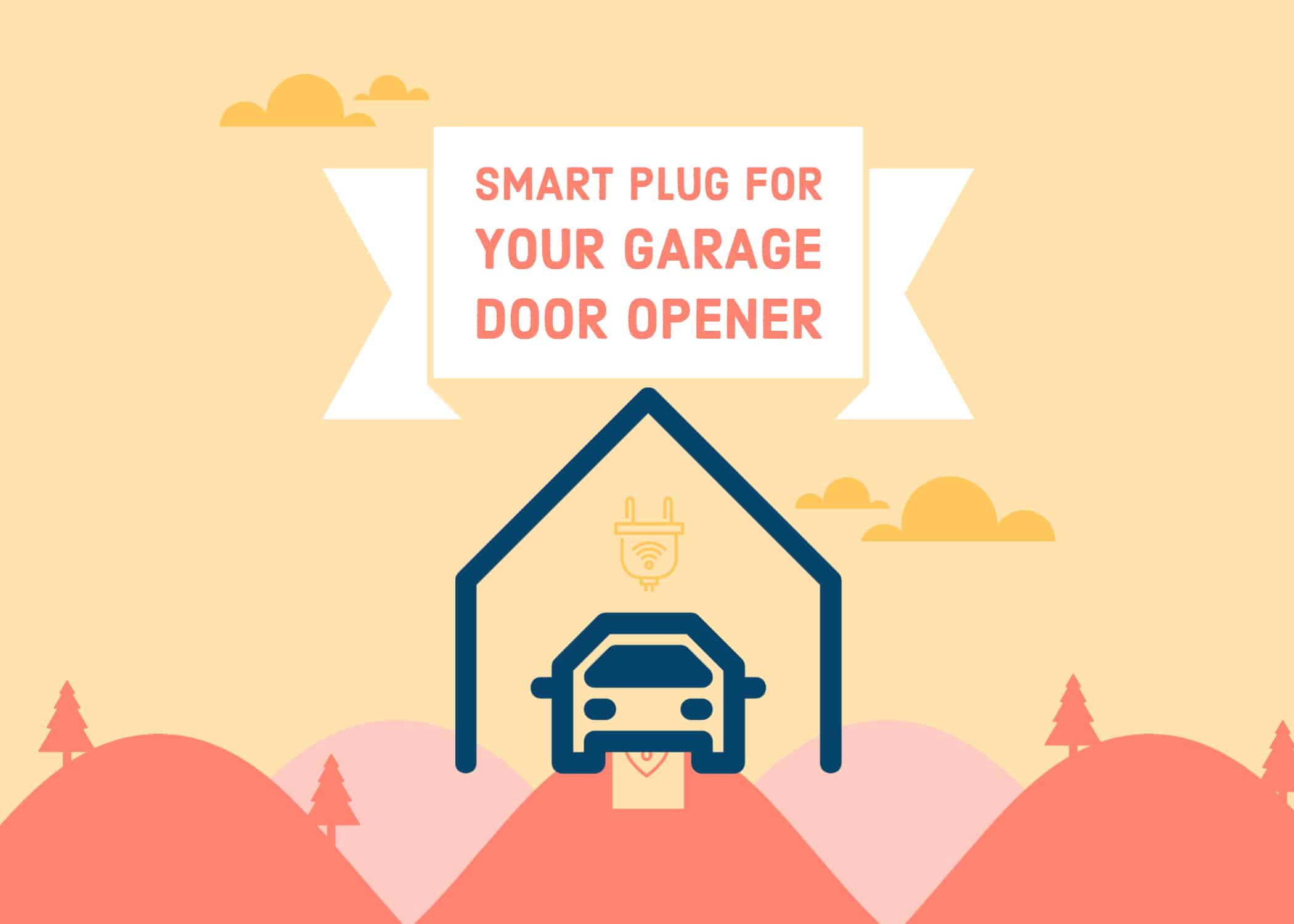 Can i use a smart plug for my garage door opener