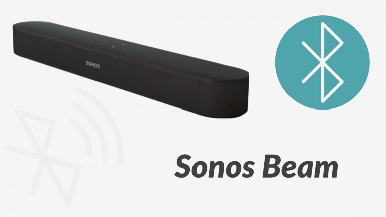 Does Sonos Beam Have Bluetooth